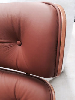 Reupholstered leather chair 2